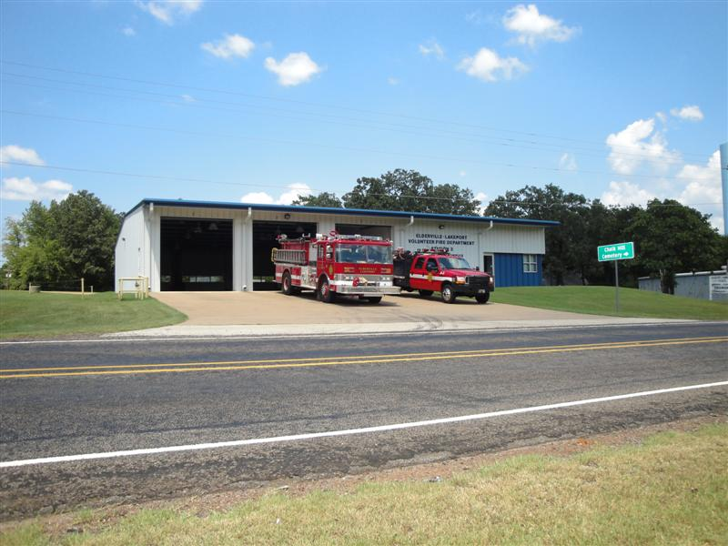 View of Station 3 from across FM 1716